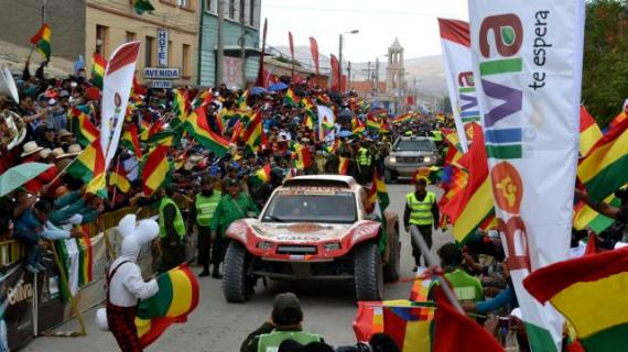 El Rally Dakar 2017 pasará por Uyuni pero no ingresrá al Salar