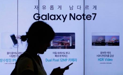 Problemas con batería del nuevo Galaxy note 7 de Samsung provoca caída en la Bolsa