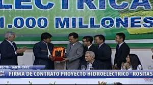Primera planta hidroeléctrica Rositas generará 600 MW comienza la segunda fase