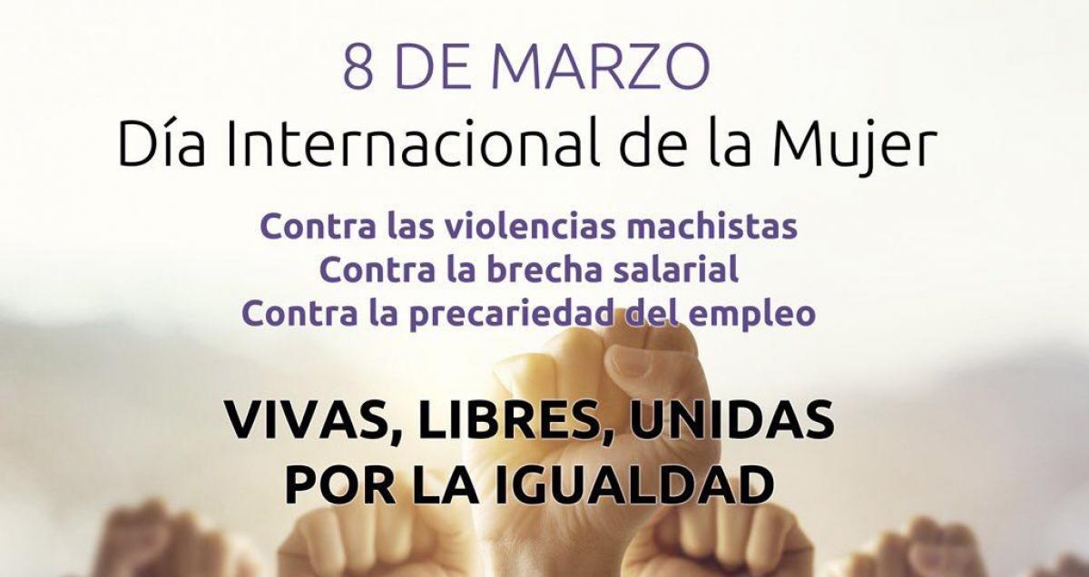 Día Internacional de la Mujer antes Día de la Mujer Trabajadora por decisión de la ONU en 1975