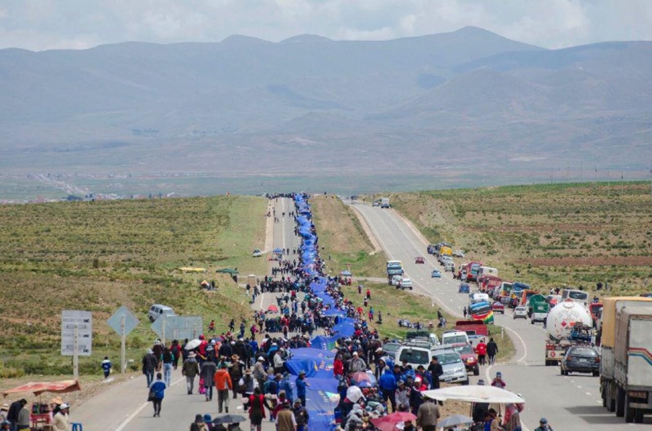 196,5 kilómetros de la bandera de la reivindicación marítima de Bolivia