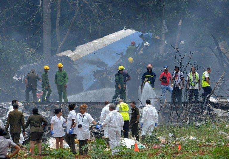 Accidente aéreo murieron al menos 107 personas en La Habana Cuba
