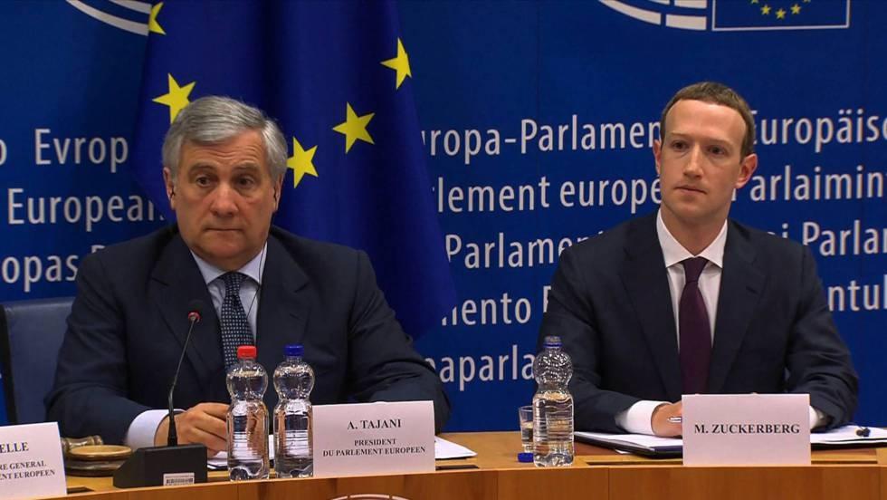 En la Eurocámara Marck Zuckerberg pidió disculpas por filtración de datos