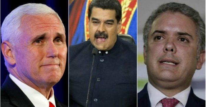 Mike Pence conversó con Iván Duque sobre Venezuela
