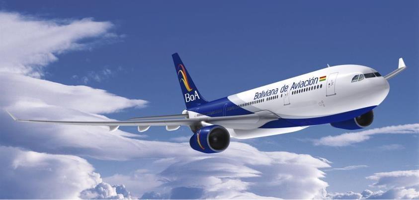 En 11 años de operación quintuplicó su patrimonio Boliviana de Aviación BOA de Bs. 114 millones en 2007 a Bs 590 millones hasta fines del 2017
