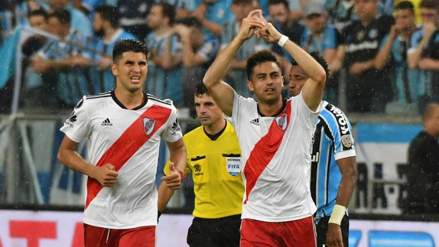 Final electrizante River Plate 2 y Grêmio 1