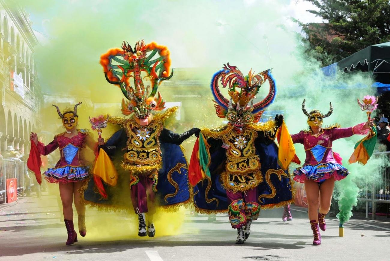 El Carnaval de Oruro 2019 Patrimonio de la Humanidad será lanzado en la World Travel Market en Londres