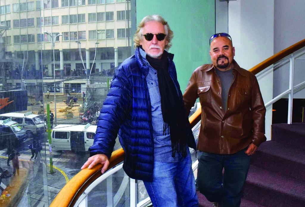 Nito Mestre y Adrián Barrenechea en un reencuentro muy esperado