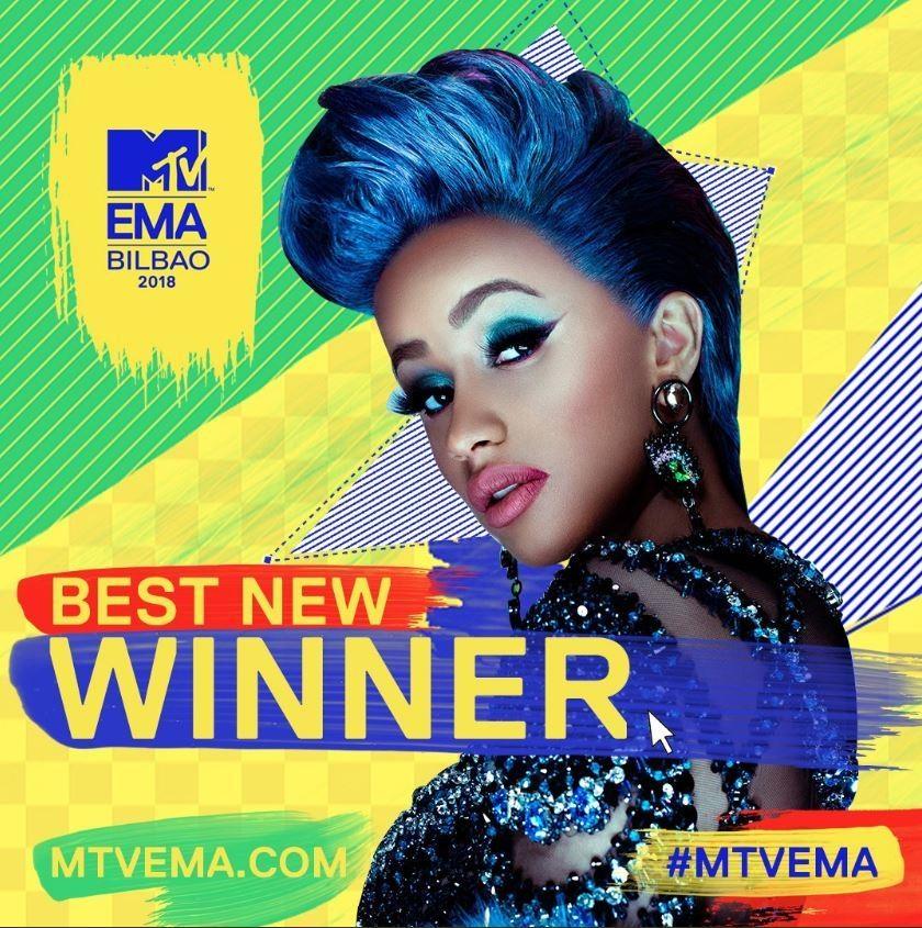 MTV Europe Awards  Camila Cabello fue la gran ganadora de la noche