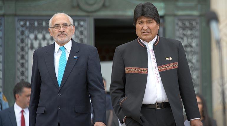 Carlos Mesa ataca a Evo Morales y afirma que no tiene miedo y que ganará las elecciones