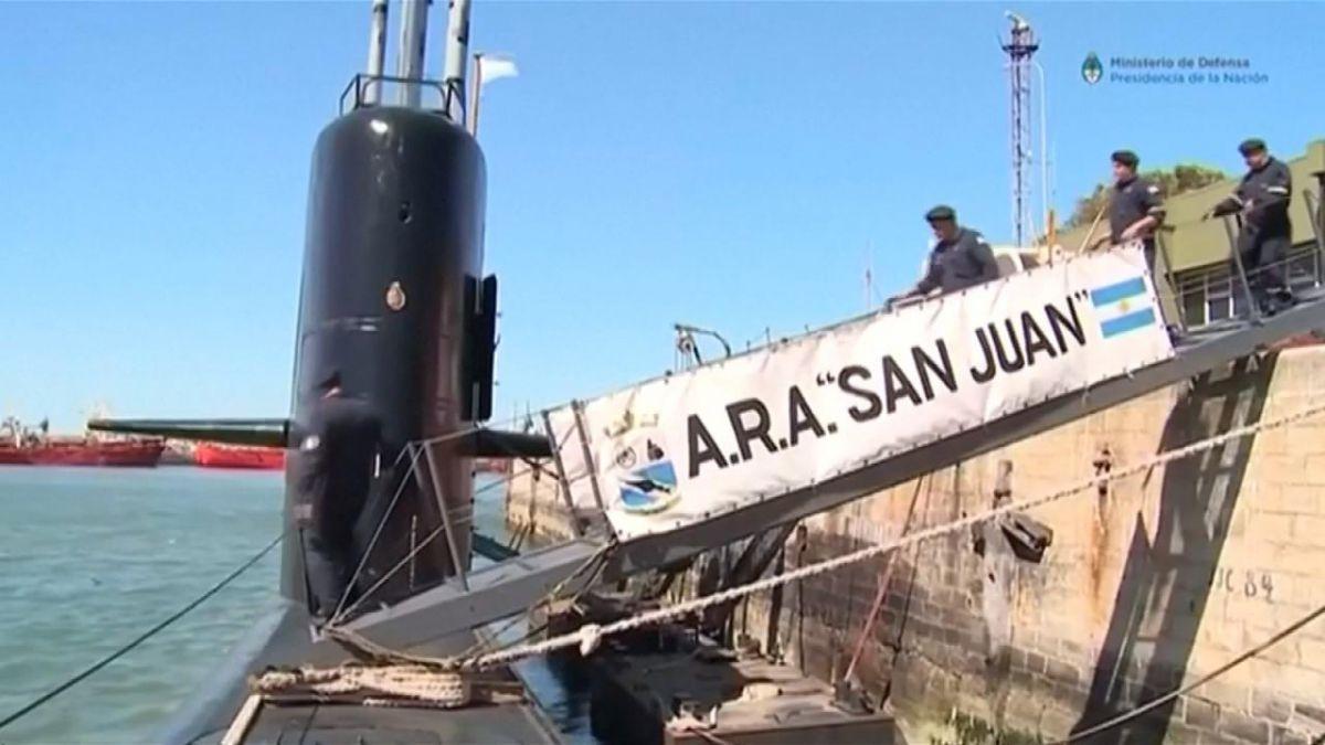 Un año después es hallado los restos del submarino