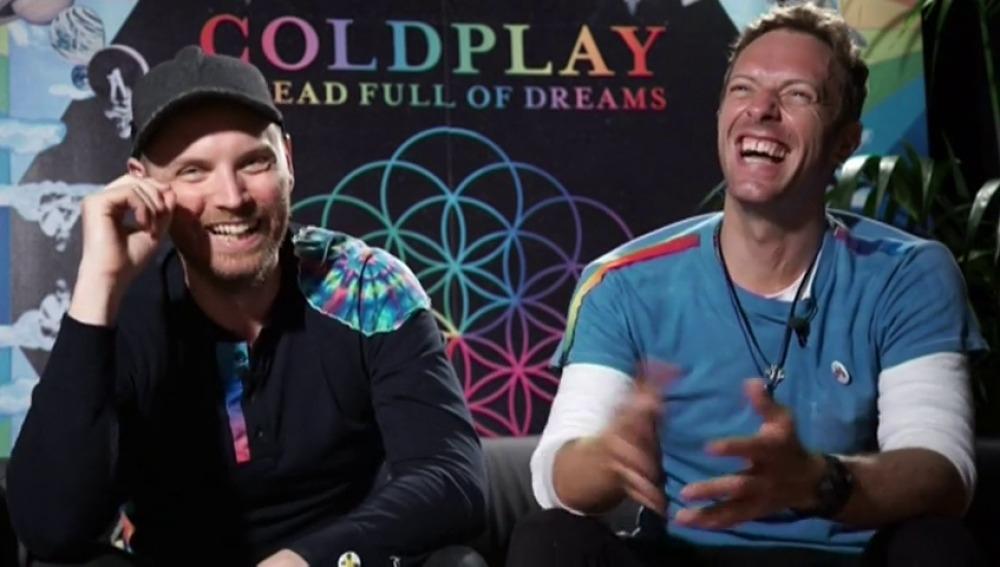Coldplay entra al estudio para presentar nuevo disco para el 2019