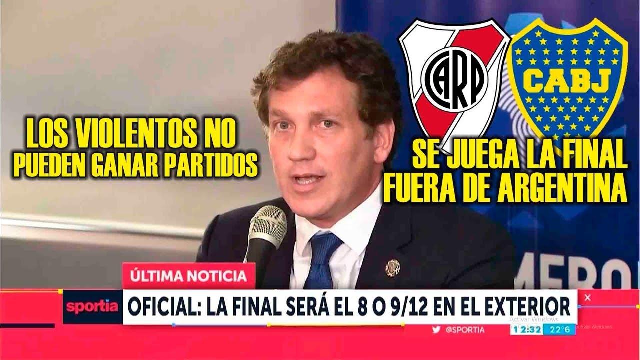 Final entre River y Boca se jugaría el 8 o 9 de diciembre y posiblemente fuera de Argentina