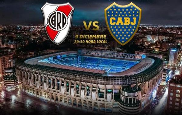 Confirmado: Final de Copa Libertadores River-Boca se jugará en el Santiago Bernabéu 9 de diciembre