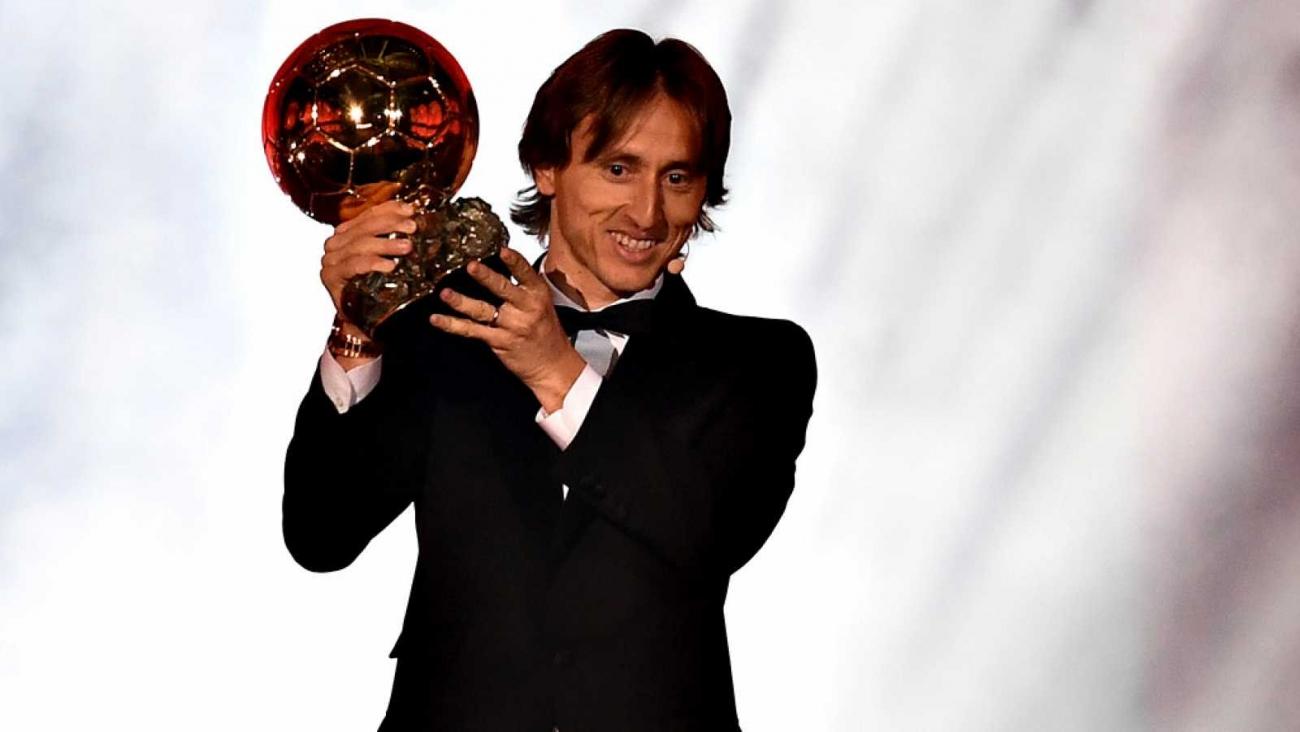 Balón de Oro 2018 para Luka Modric