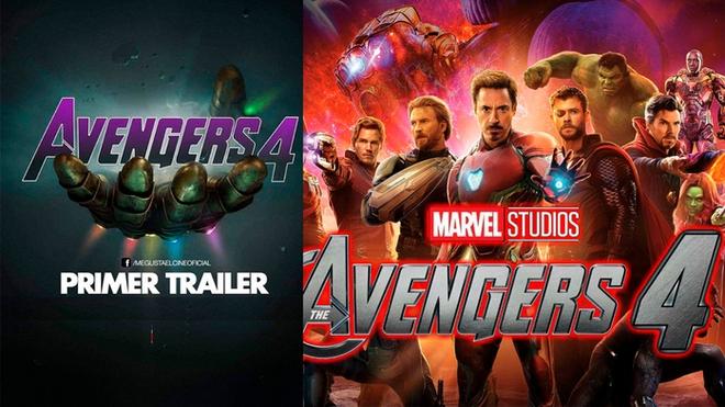 Aquí esta el Tráiler de  Avengers: End Game