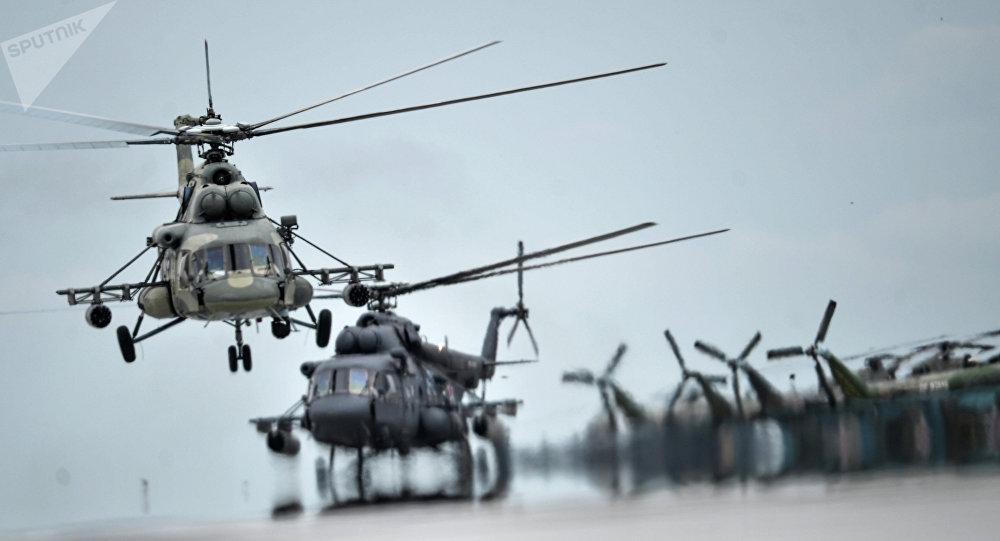 En Perú se inaugura centro de mantenimiento de helicópteros rusos