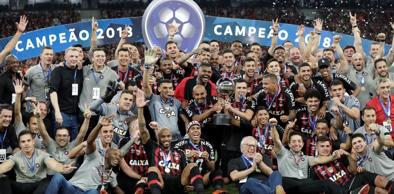 Atlético Paranaense venció a Junior y se consagró campeón de la Copa Sudamericana