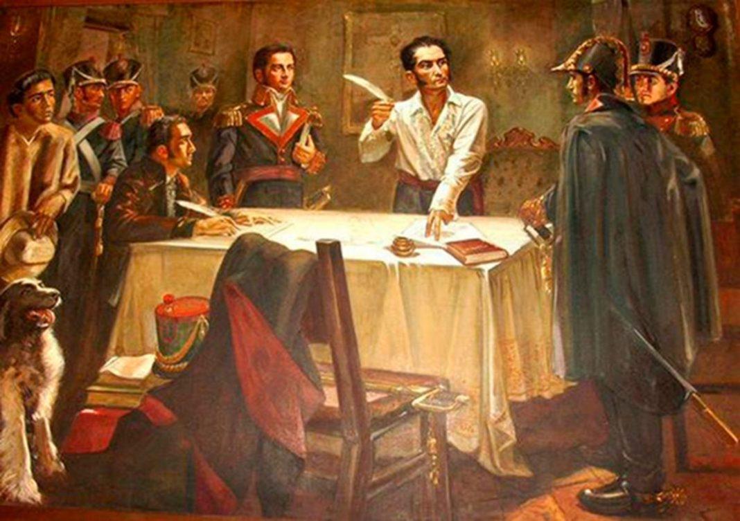 Honran al Libertador Simón Bolívar en los 188 años de su muerte