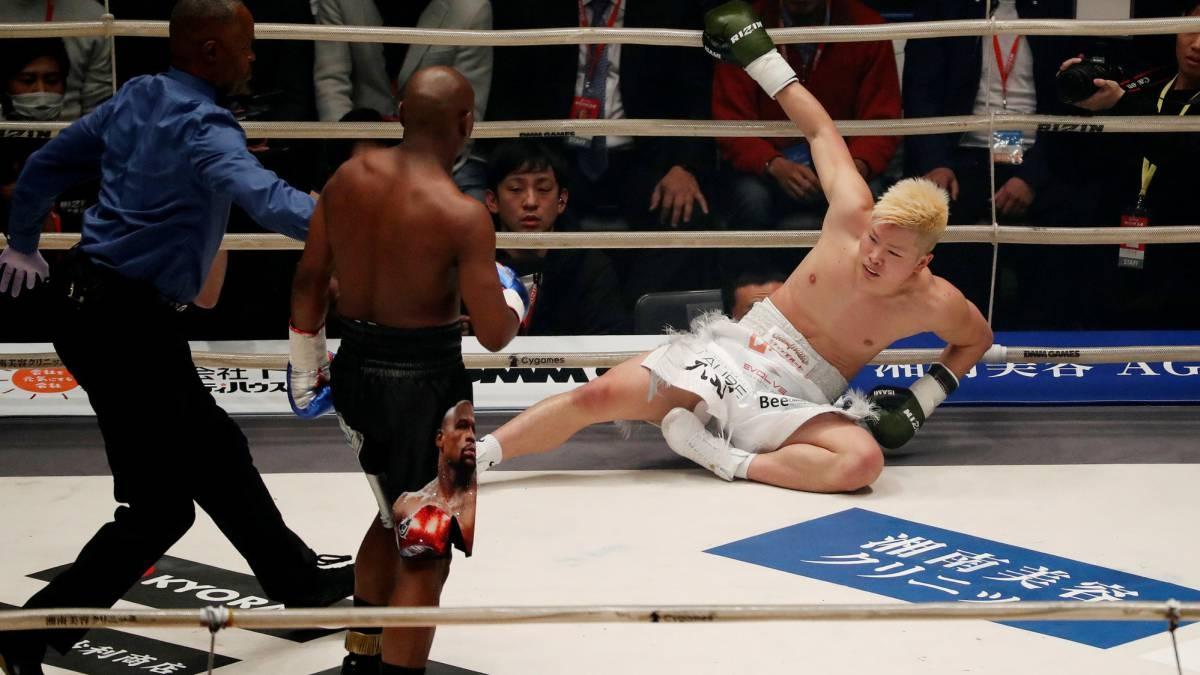 Floyd Mayweather se llevó 77 millones de euros (USD 88,2 millones) por el combate ante Tenshin Nasukawa