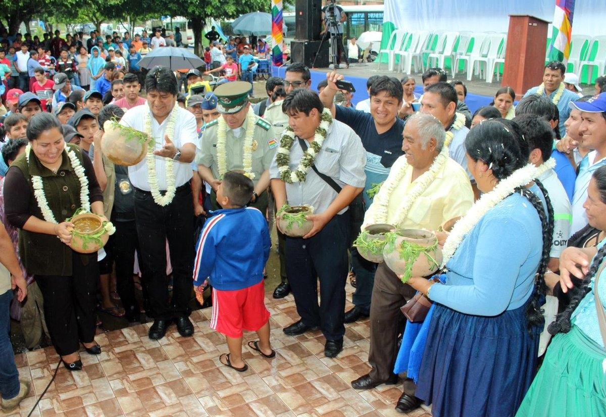 Informe de gestión del presidente Evo Morales será