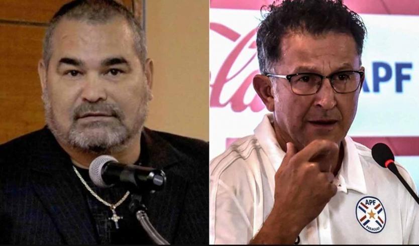 José Luis Chilavert reaccionó con dureza