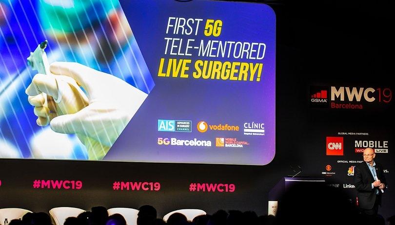Primera cirugía con ayuda del 5G y transmitida por streaming en el MWC 2019