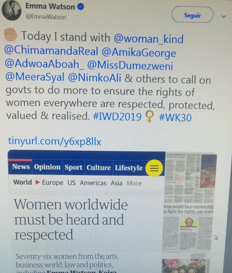 76 mujeres publicaron una carta exigiendo igualdad de género