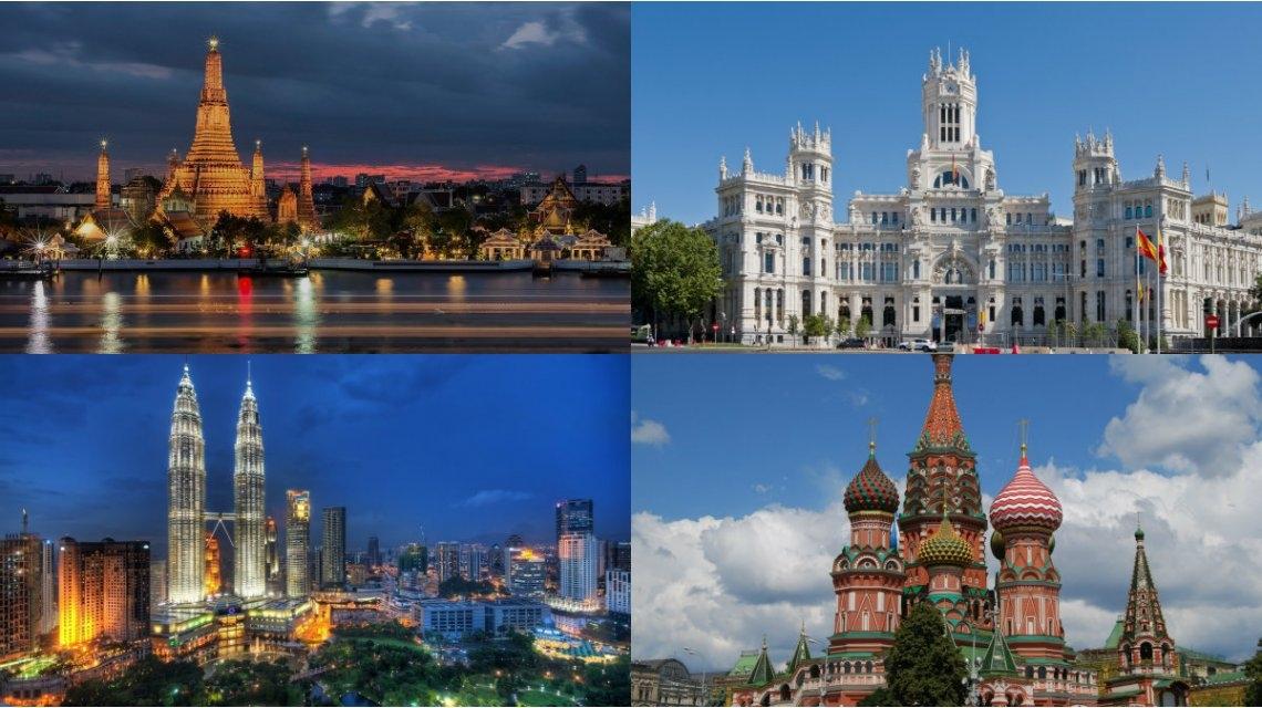 Conozca las 10 ciudades más caras y las 10 más baratas del mundo