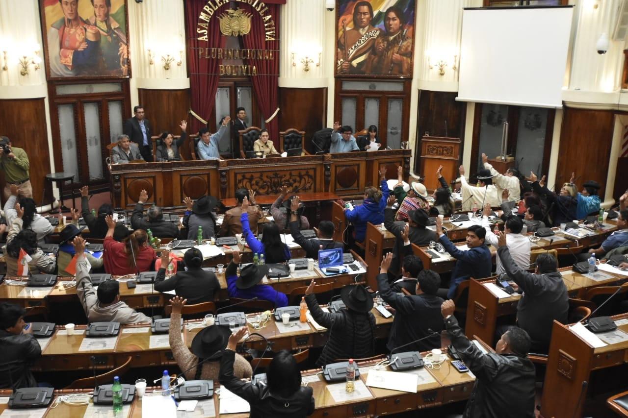 Asamblea Legislativa aprueba declaración que rechaza intromisión del Senado de EEUU en política boliviana