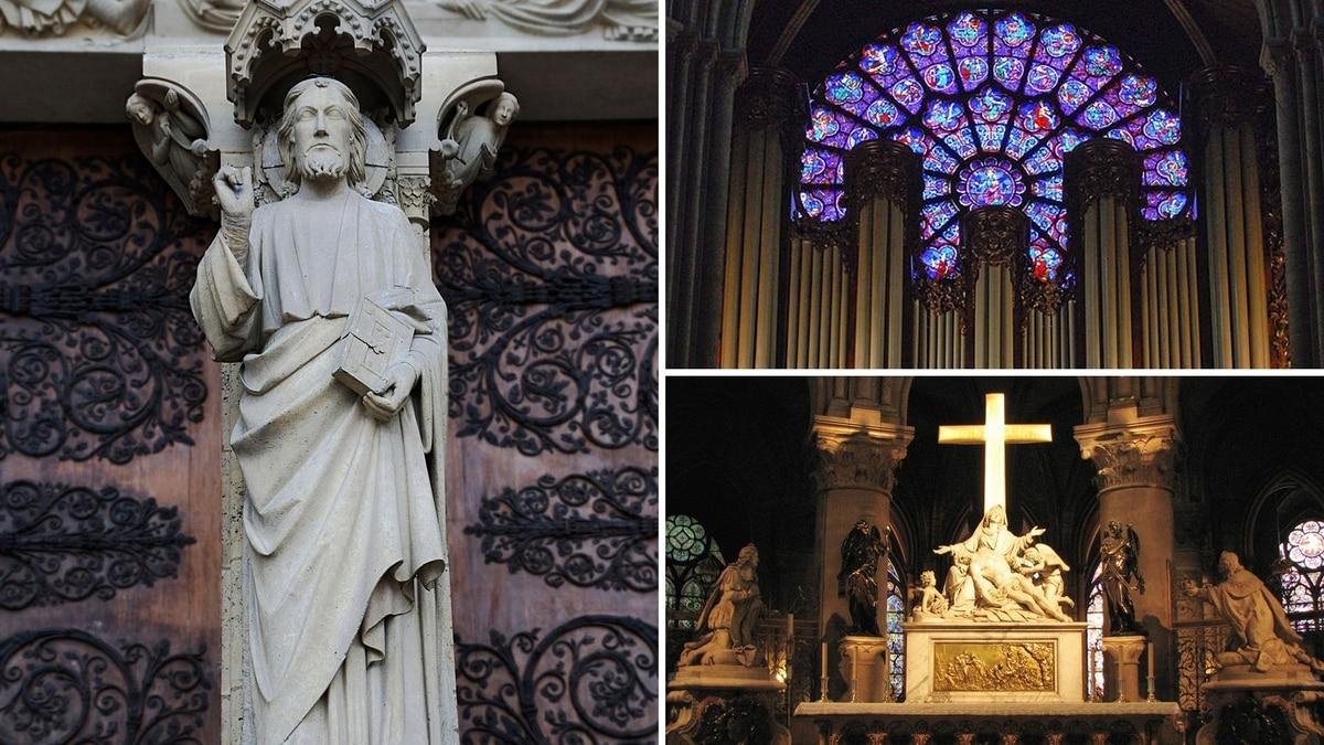 ¿Cuales son tesoros de Notre Dame, obras y reliquias de la gran catedral francesa?