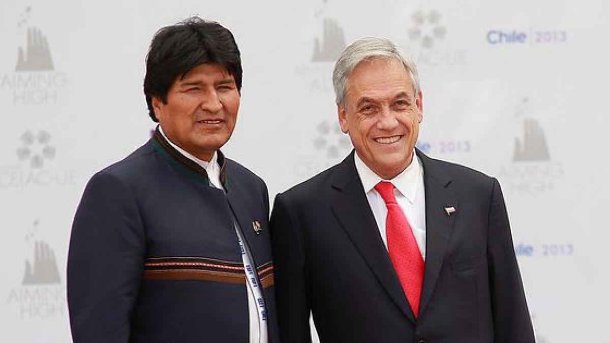 Presidente de Chile Sebastián Piñera, invitó al presidente de Bolivia, Evo Morales para participar de la Conferencia de las Partes de la Convención Marco de las Naciones Unidas sobre el Cambio Climático 25 (COP25)