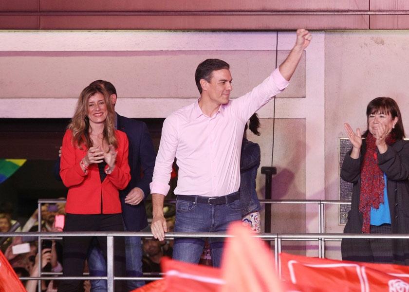 Pedro Sánchez gana en España, se libera de los independentistas pero tiene que negociar pactos para gobernar