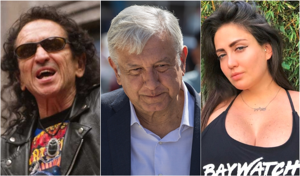 Alex Lora se disculpó con el Presidente Andrés Manuel López Obrador por la broma de su hija