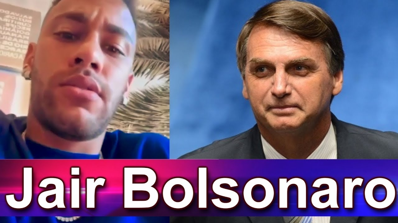 Presidente de Brasil Jair Bolsonaro apoya a Neymar acusado de violación: