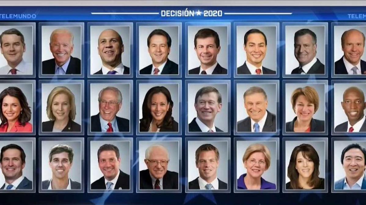 Empezó el debate del Partido Demócrata 10 precandidatos en 2 horas de preguntas y respuestas