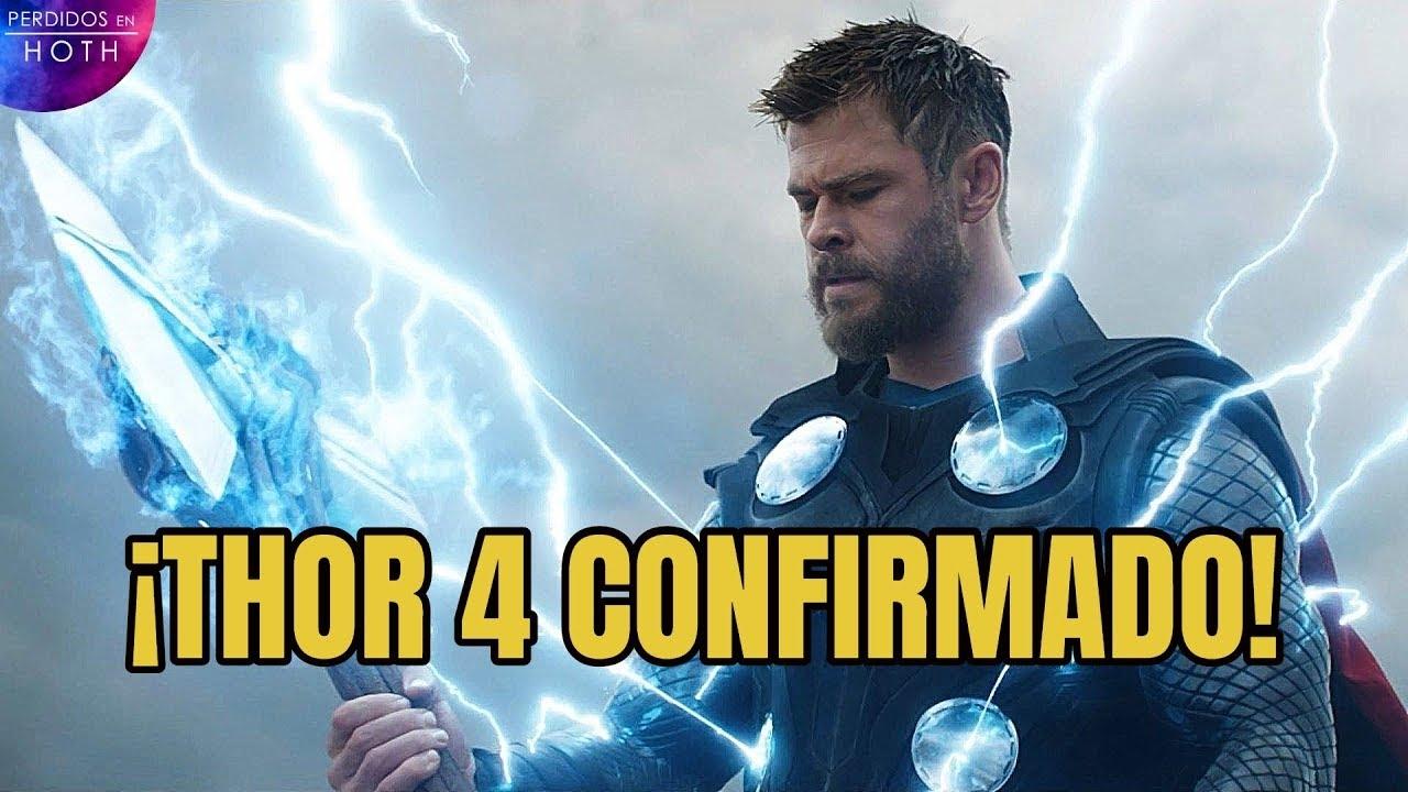 2022 Confirmado: Thor 4  Chris Hemsworth sigue en la saga