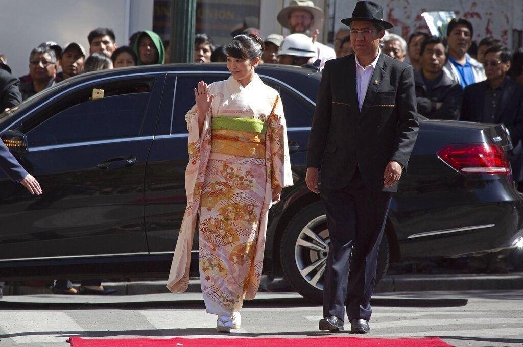 Princesa Mako agradece la acogida de japoneses en Bolivia y contempla 28 actividades