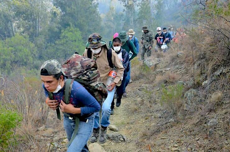 Quedan pocos focos de incendio en la región de la Chiquitania lo confirmó Viceministro de Defensa  Civil Oscar Cabrera
