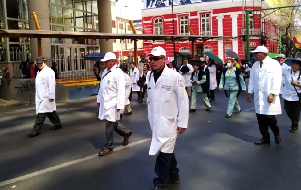 Tribunal Constitucional Plurinacional prohíbe la huelga indefinida en salud y pide al Legislativo ley para regular las protestas