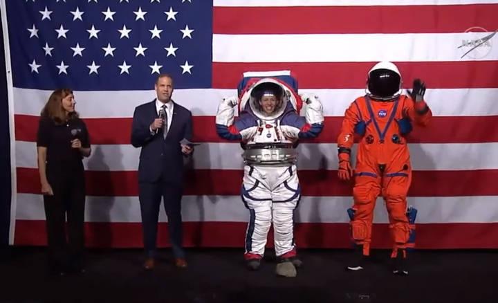 Nuevos trajes espaciales que serán usados para el próximo viaje a la Luna