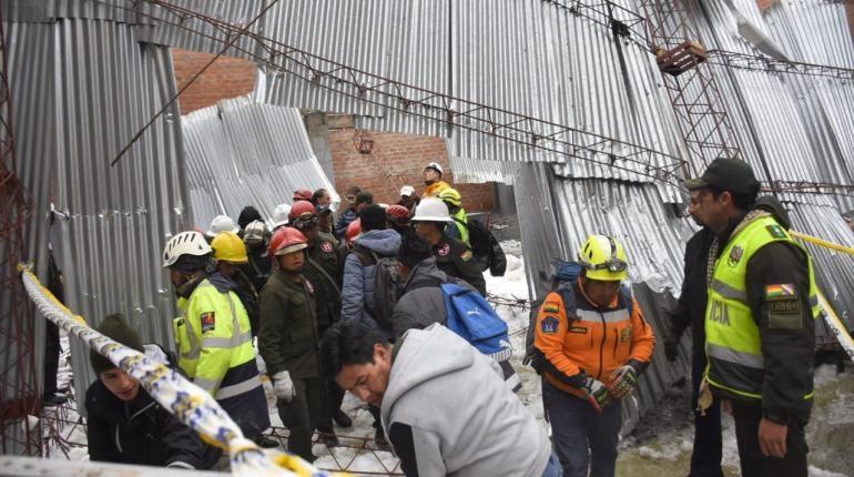Granizo provoca colapso en tinglado de colegio y deja nueve estudiantes heridos
