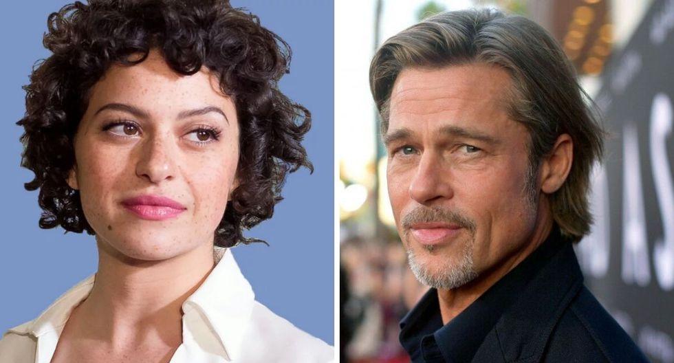 Brad Pitt esta saliendo con la actriz Alia Shawkat 25 años menor