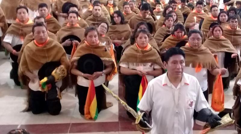 Con Fé, devoción y folklore arrancó el primer convite rumbo al Carnaval de Oruro 2020