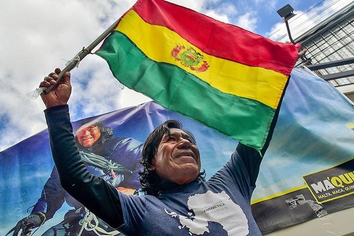 Son las 7 cimas más altas del mundo que conquista el boliviano Bernardo Guarachi