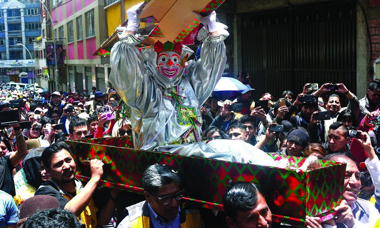 Empieza el carnaval despertó el Pepino