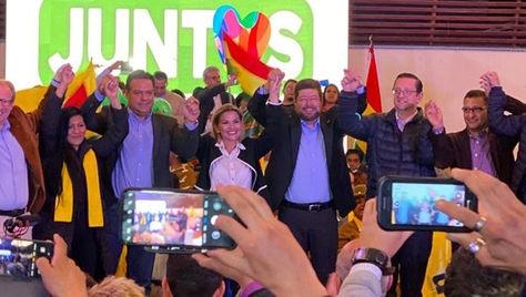 Juntos, la alianza que postula a la presidenta Jeanine Áñez y Samuel Doria Medina proponen el empoderamiento de la mujer boliviana
