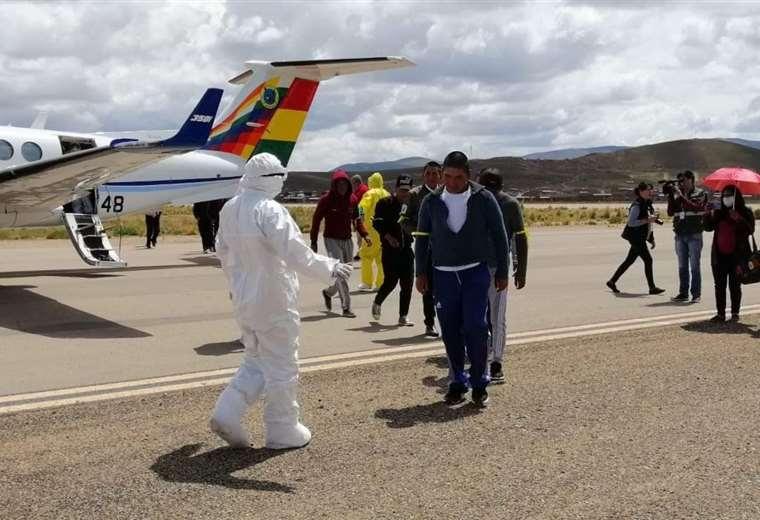 En la capital del Folklore Oruro realizan simulacro para prevenir el coronavirus ante la llegada de turistas al Carnaval