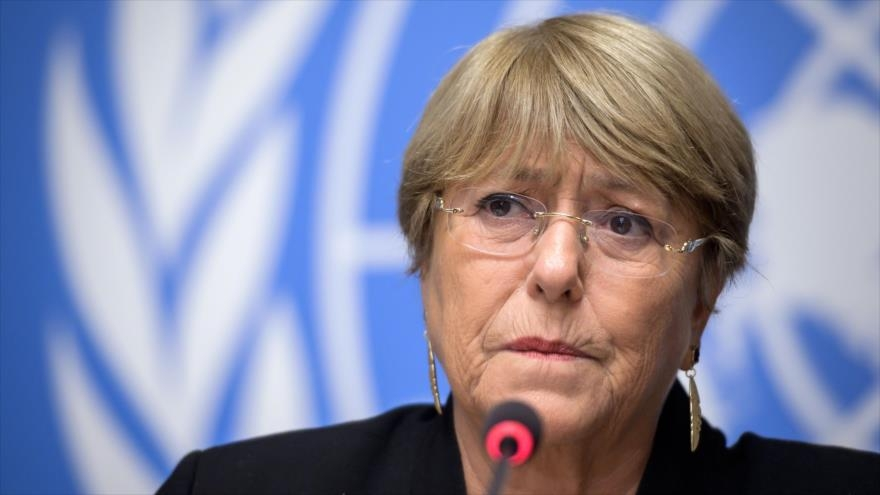 Michelle Bachelet, expresó su preocupación por las
