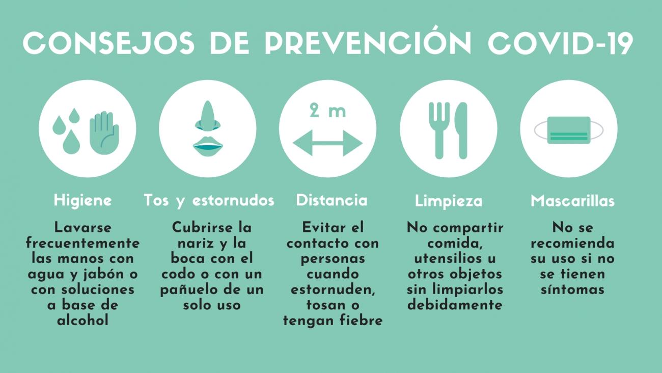 La OMS da 10 recomendaciones para prevenir el contagio del coronavirus COVID 19
